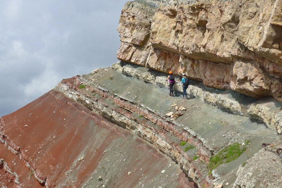 Sentiero ferrato Astaldi - Ros de Tofana