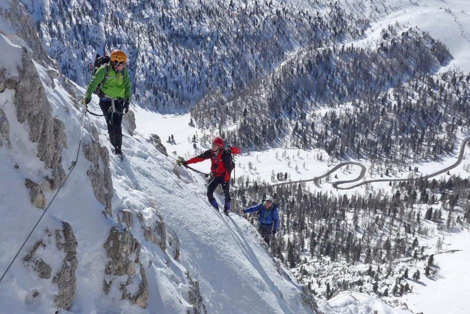 Ferrata Truppe Alpine - Col dei Bos