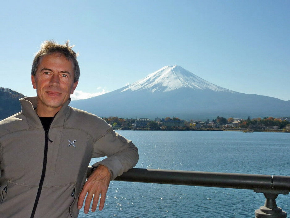 Enrico at Fujiyoshida