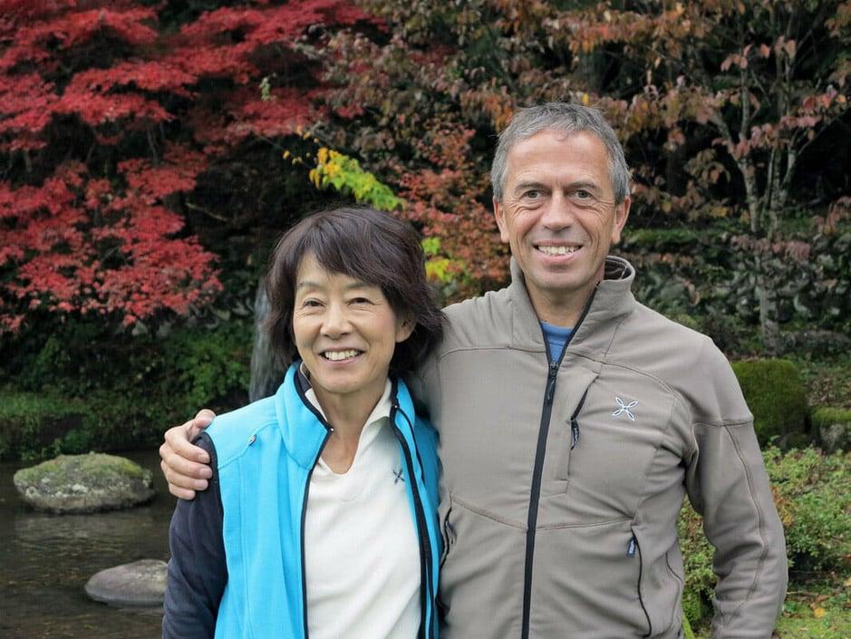Kyoko Miwa e Enrico Maioni