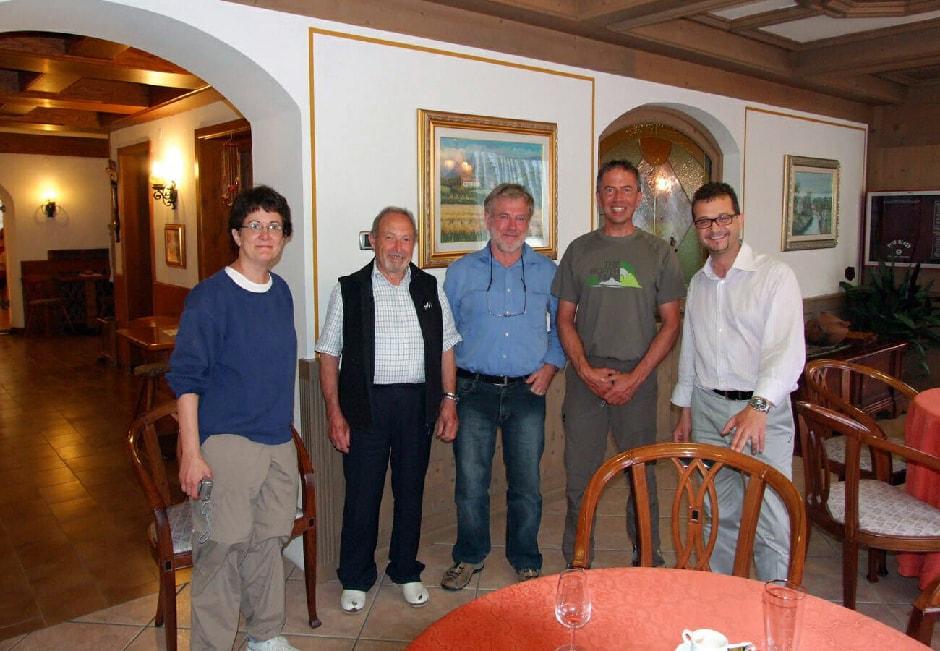 Wendy, Filiberto, Gianpaolo, Enrico and Filiberto's son