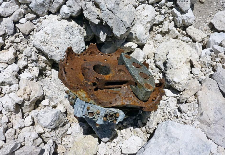 Wreckages of Lockheed P-2V6 Neptune