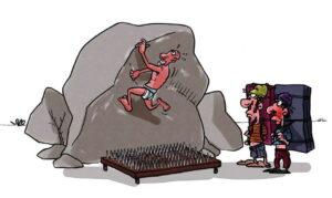 bouldering rock climbing grades