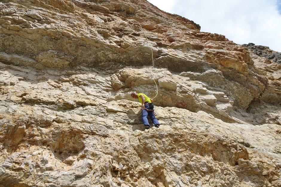 Sakae climbing Nordica