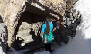Grotta - ricovero dei soldati.