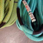 Corde per arrampicare gemelle