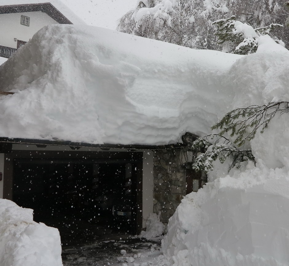 Neve a Cortina - 1 febbraio 2014