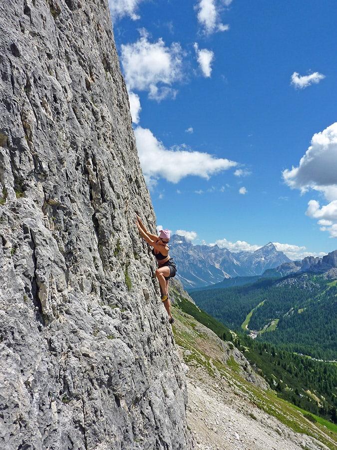 Sport Climbing Lagazuoi
