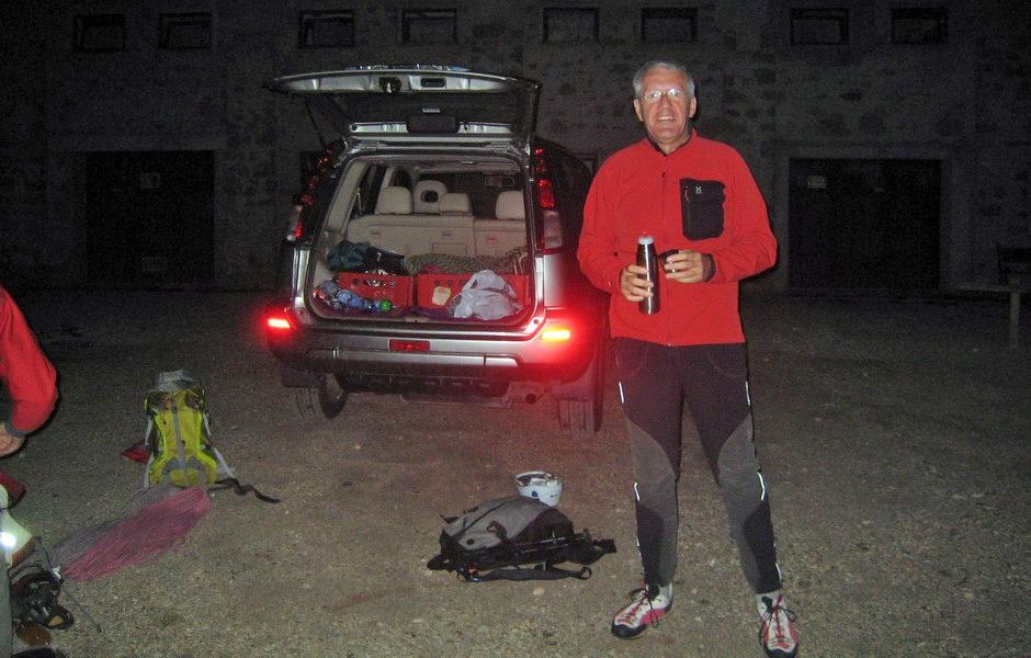 Rifugio Dibona -15 Agosto 2009 - ore 5:30