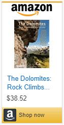 Dolomites rock climbing guidebook