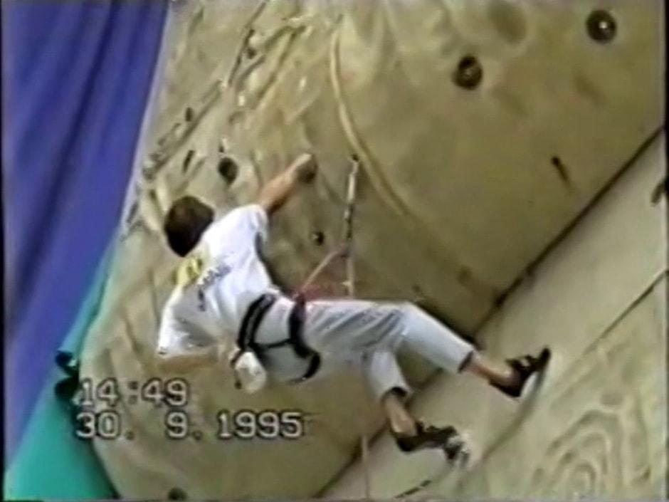 Mountain Guides Climbing Championship - Arco 1995 - Enrico Maioni