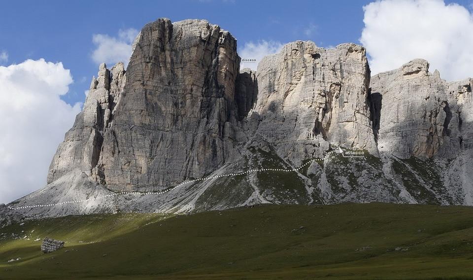 Peaks of Mondeval.