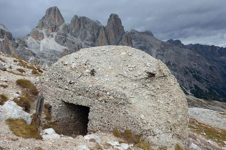 Col dei Bos: Great War bunker