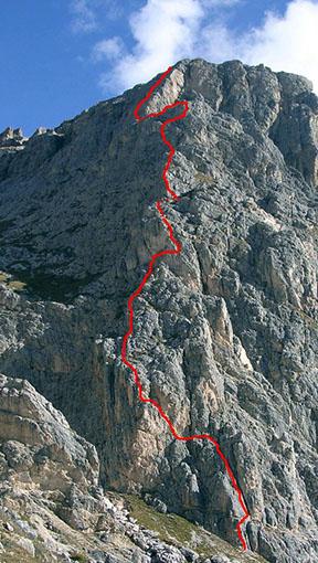 Ferrata degli Alpini - Col dei Bos