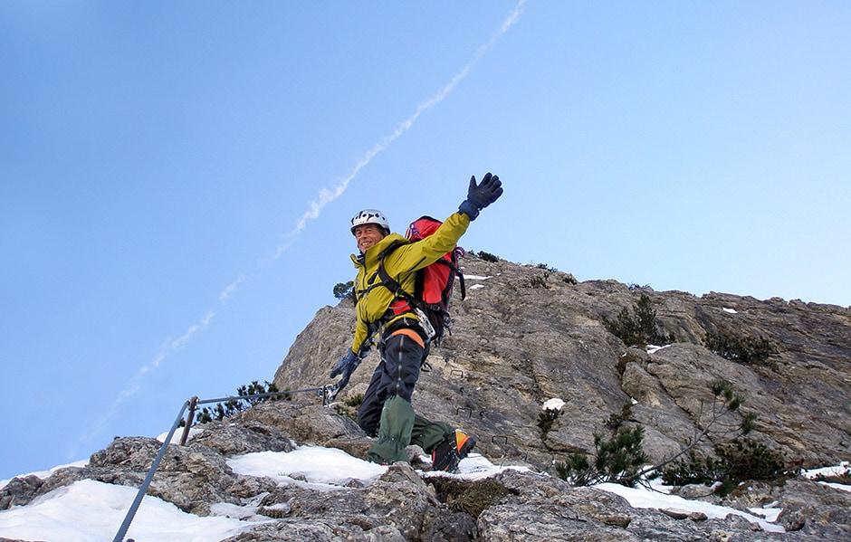 Ferrata Sci 18 - Faloria - Inverno