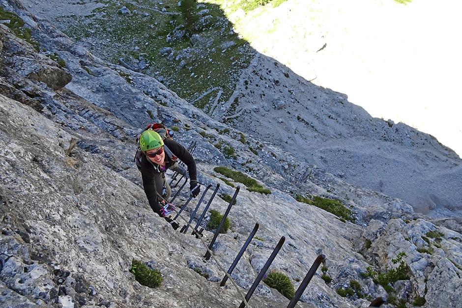 Minighel ladder Tofana