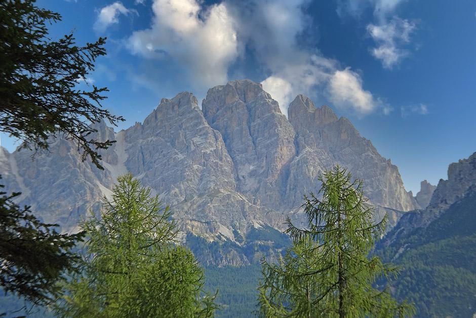 Monte Cristallo e Piz Popena