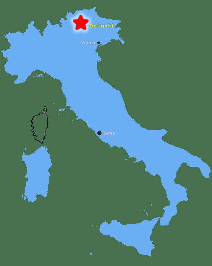 Cartina Geografica Dolomiti.Clima E Geologia Delle Dolomiti Sapete Dove Sono Queste Montagne