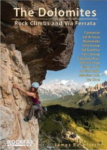 Dolomites climbing guidebook