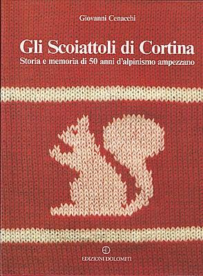 Copertina libro Gli Scoiattoli di Cortina