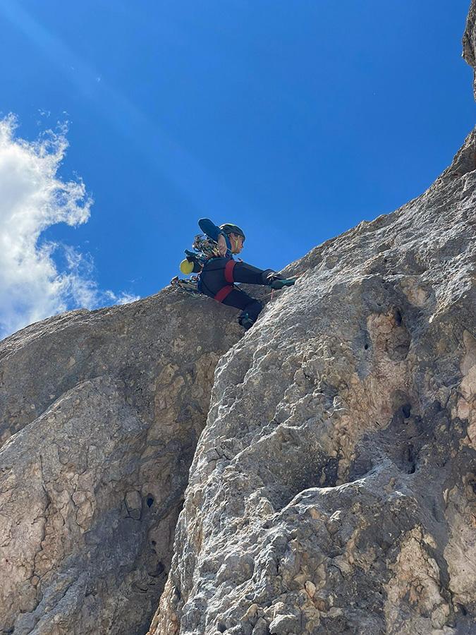Arrampicata sul Col Bechei