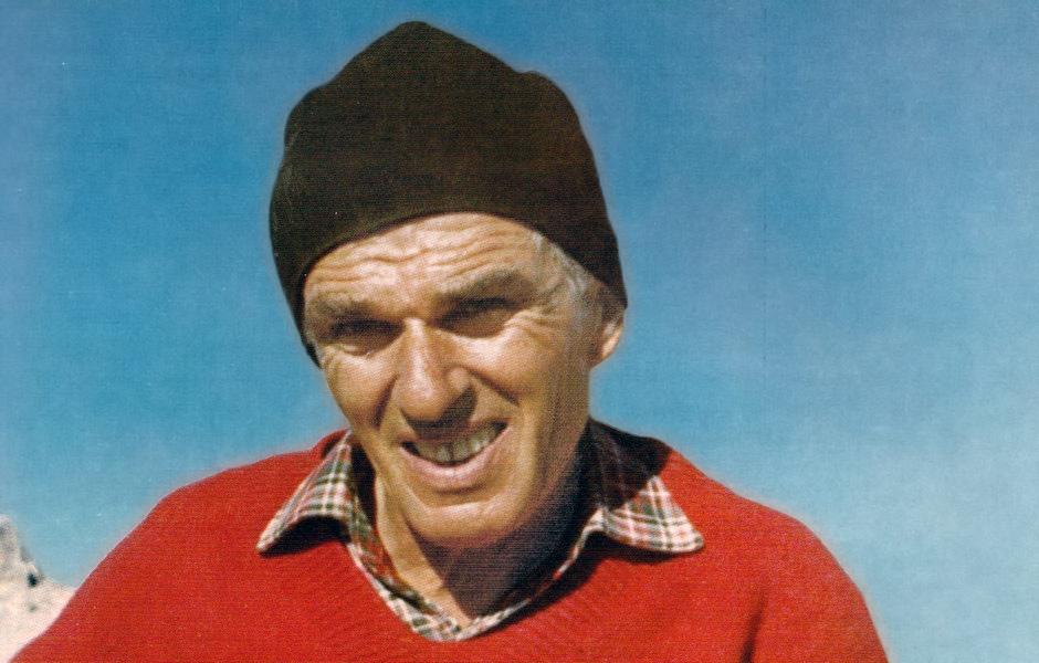 L'alpinista Marino Bianchi