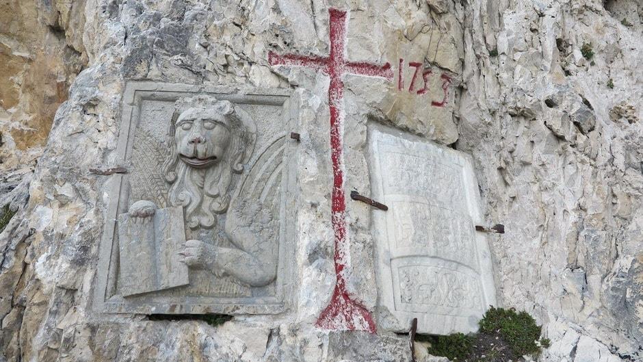 Leone di San Marco e scudi asburgici