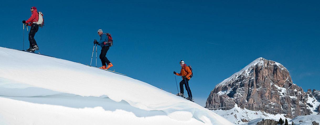 Sci alpinismo e fuoripista in Dolomiti