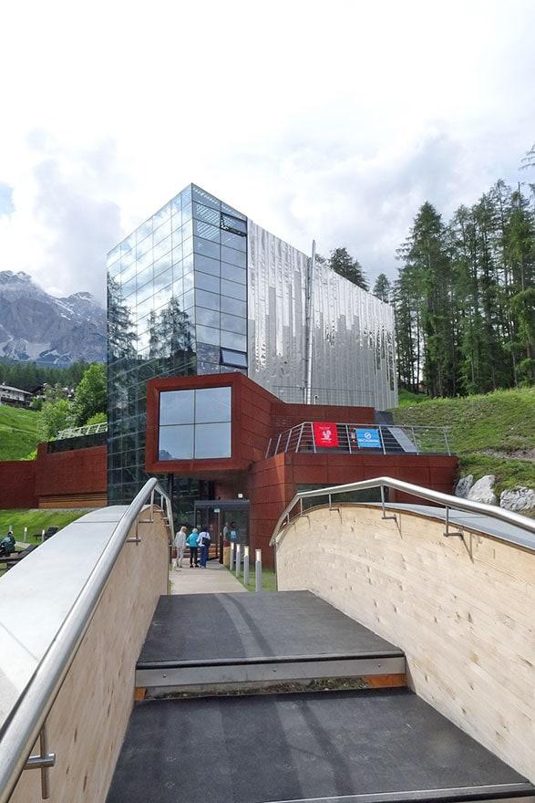 Palestra di arrampicata a Cortina d'Ampezzo