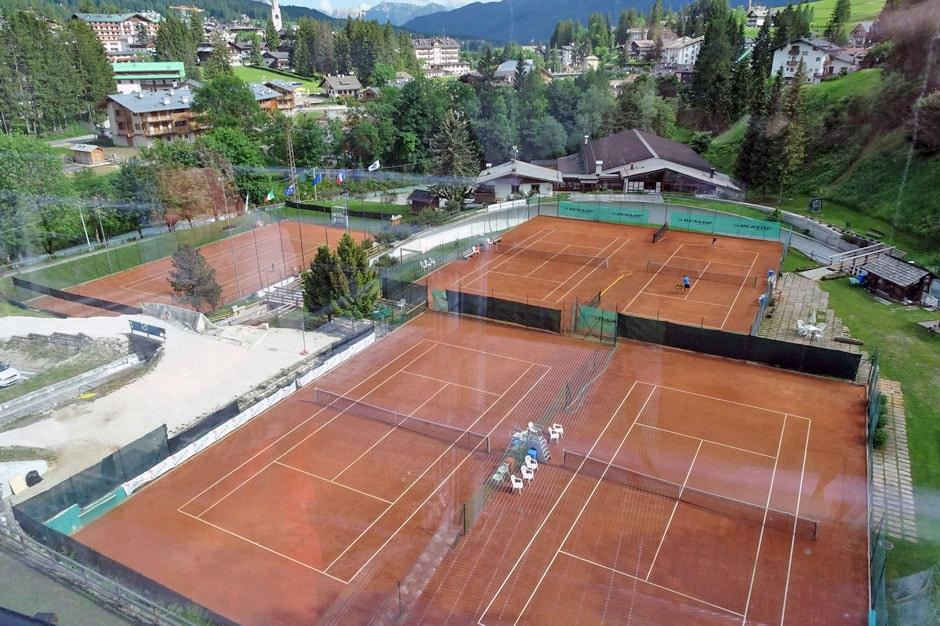Tennis a Cortina d'Ampezzo