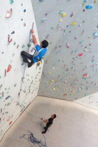 palestra di arrampicata a dobbiaco