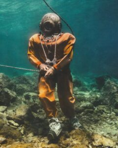 Kalymnos sponge divers.