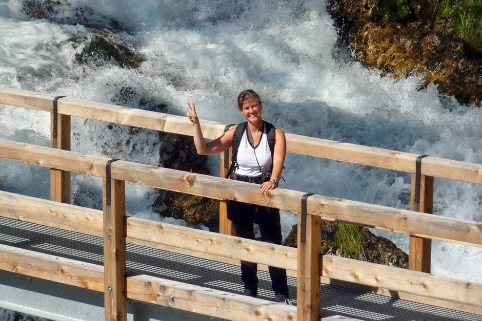 Ponte sul Rio Fanes