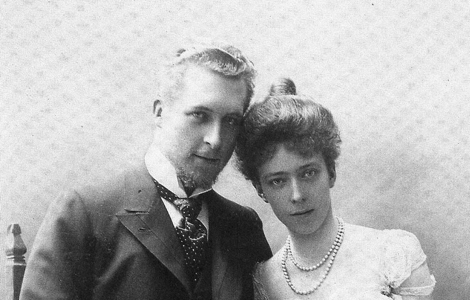 Re Alberto I del Belgio e Elisabetta
