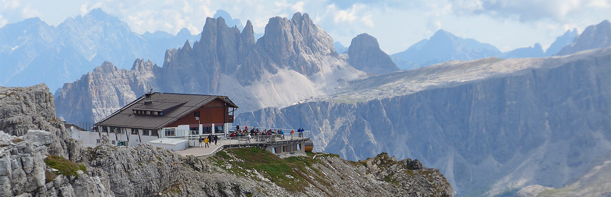 Mountain huts - Lagazuoi