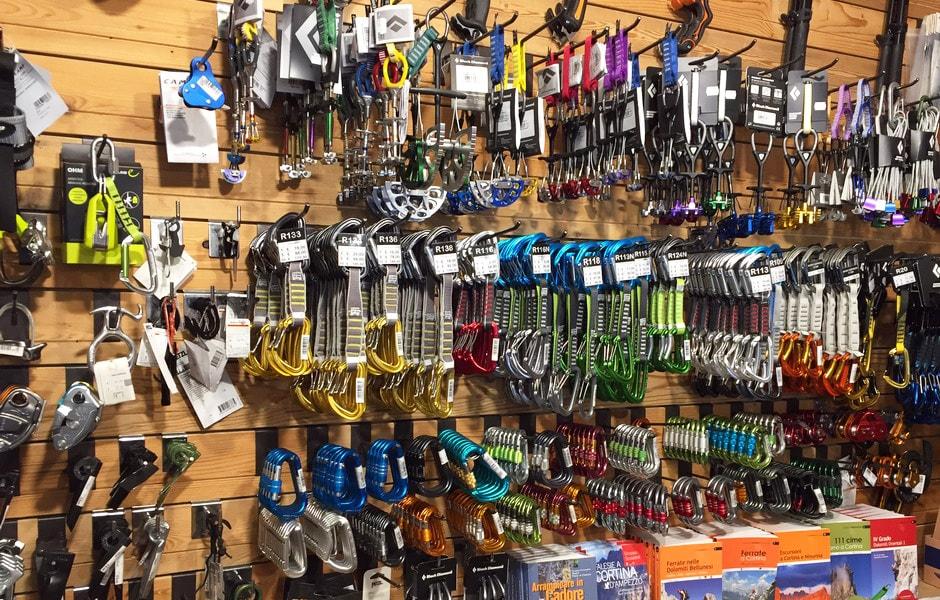 Materiale per arrampicata