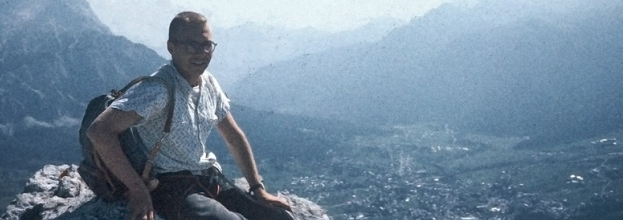 Rodger Raubach - Spigolo Jori on Punta Fiames