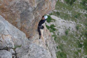 arrampicata in cinque torri