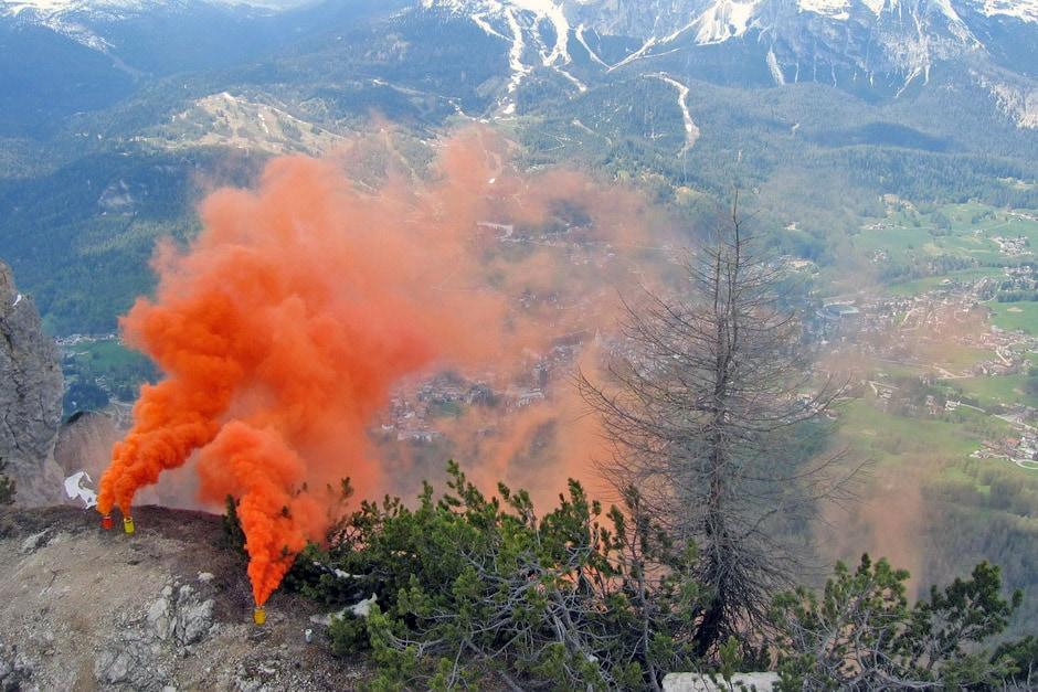 Sad Smoky Mountains sopra Cortina