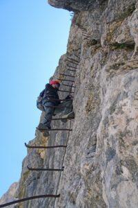 Minighel ladder