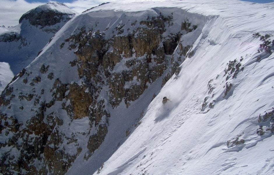 Coopertina del libro scialpinismo in Comelico - Sappada.