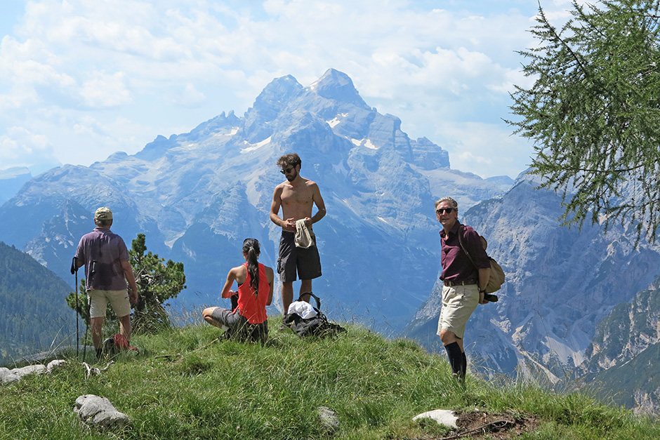 Salendo alla Val Montesela