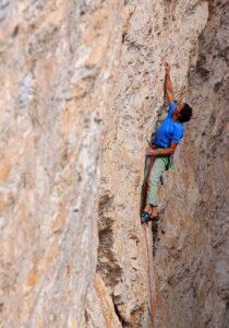 Climbing at Setsas