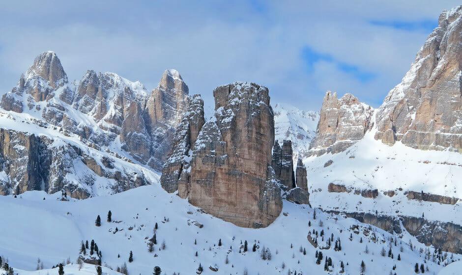 The amazing Cinque Torri.