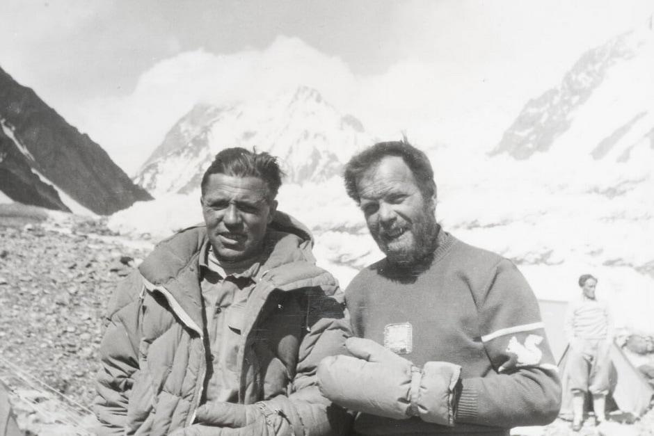 Lacedelli e Compagnoni - K2 - 1954