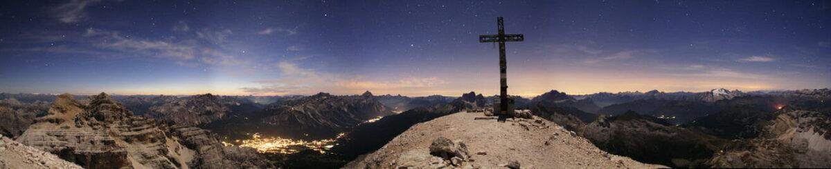 Panorama dalla cima della Tofana di Rozes