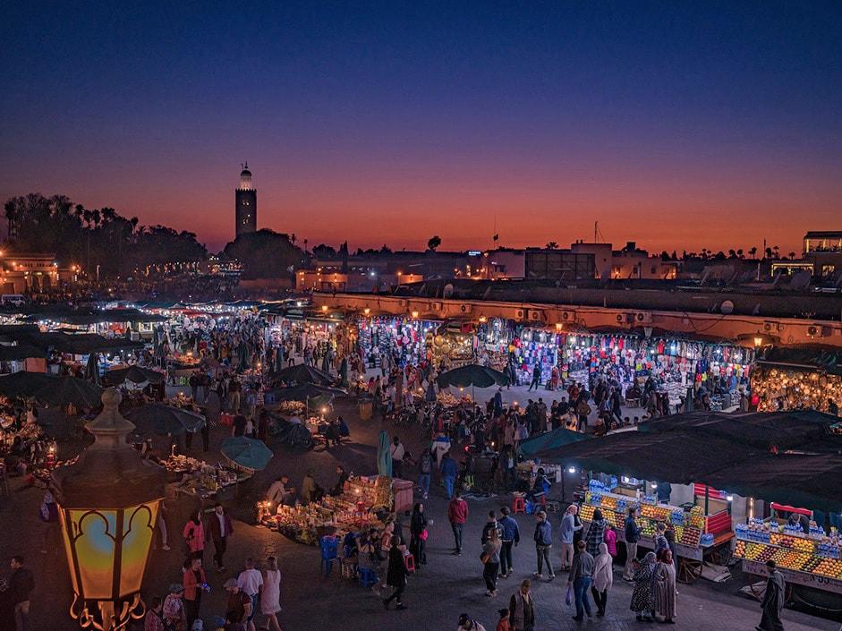 Marrakech - Square Jemaa El Fna