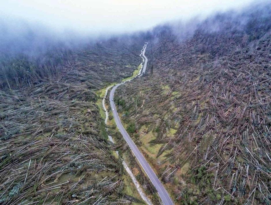 Effetti tempesta Vaia - Ottobre 2018