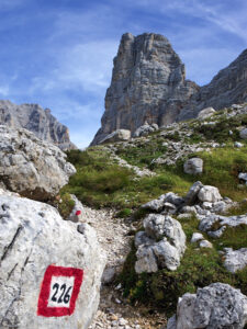 Giro del Sorapiss - La Torre dei Sabbioni