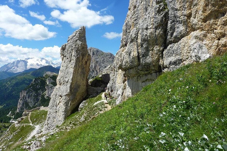 La Torre - Lagazuoi crag